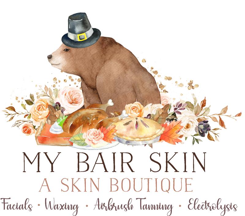 My Bair Skin - Thanksgiving Logo